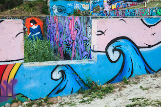 Photo: Foundation at Castle Hill Murals - Austin, Texas