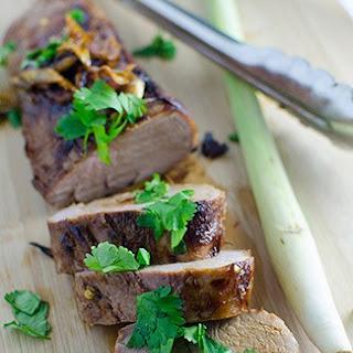Lemongrass Pork Tenderloin