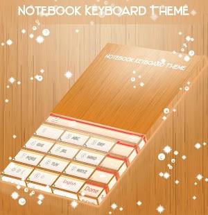 Téma klávesnice notebooku - náhled