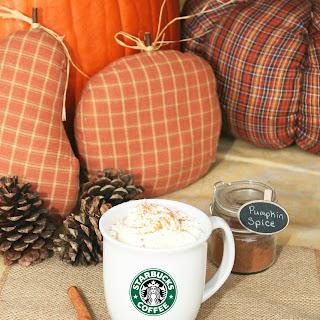 Pumpkin Spice Latte (Starbucks Copycat)