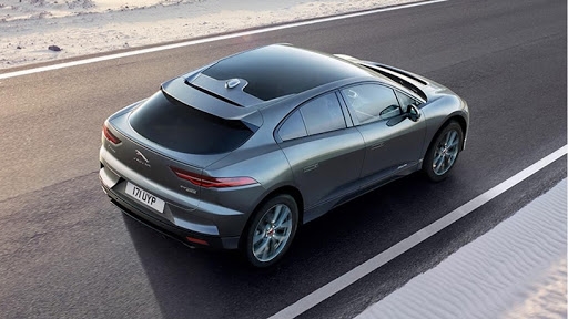 The Jaguar I-Pace.