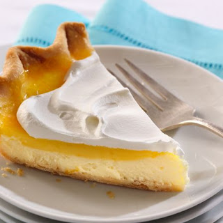 Lemon-Layer Cream Cheese Pie.