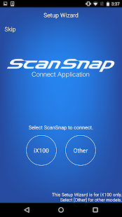 ScanSnap Connect Application.- screenshot thumbnail
