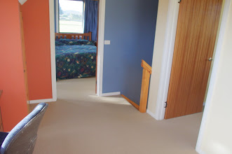Photo: Upstairs - Master bedroom, single bedroom and nook