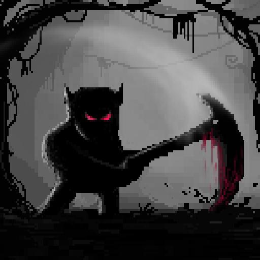 Mahluk: Dark demon - Retro horror platformer (game)