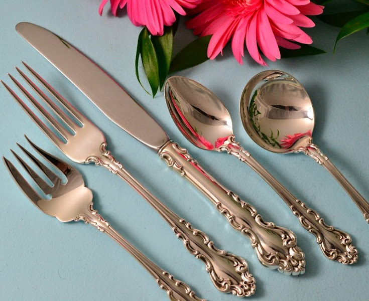 Photo: http://www.RareSterling.com RareSterling.com - Reed and Barton Sterling Silver Flatware - Spanish Baroque Pattern  We Buy Silver — http://www.RareSterling.com  Do not melt your Mother's Sterling Silver!  We Pay More!  We Buy Antique Sterling Silver.  RareSterling.com Antiques — dedicated to offering our clients the excellent service that they deserve and have earned our clients' trust with our extensive knowledge, experience and professionalism.  Call Mike Coone (Owner), Sterling Silver Specialist California  310. 435.1056 or Florida 561.430.9715   Visit our website @ http://www.RareSterling.com  Let us make you an offer for your silver today!  Buying and selling sterling silver, any condition, anywhere in the USA.