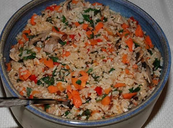 Rice-vegetable Pilaf