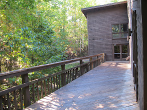 Photo: Dining Hall Back Deck Side 1