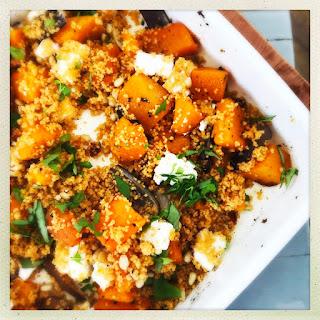 Roast Squash and Feta Couscous Recipe