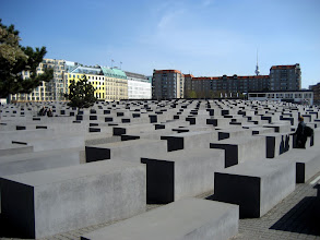 Photo: Das Holocaust-Mahnmal