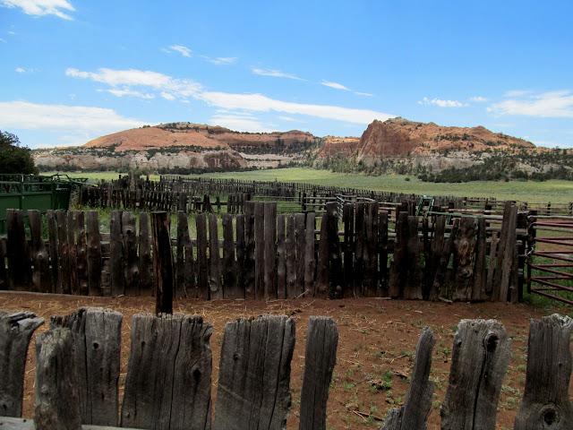 Corral at Jorgenson Flat