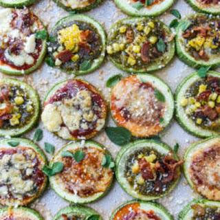 Mini Zucchini Pizzas, 3 Ways