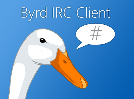 Byrd IRC client