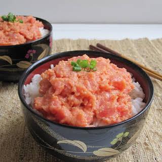 Spicy Tuna Donburi (Rice Bowl).