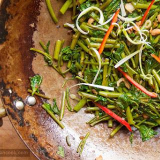 Stir Fried Water Spinach Recipe