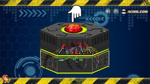 玩具机器人大战:机器毒蜘蛛