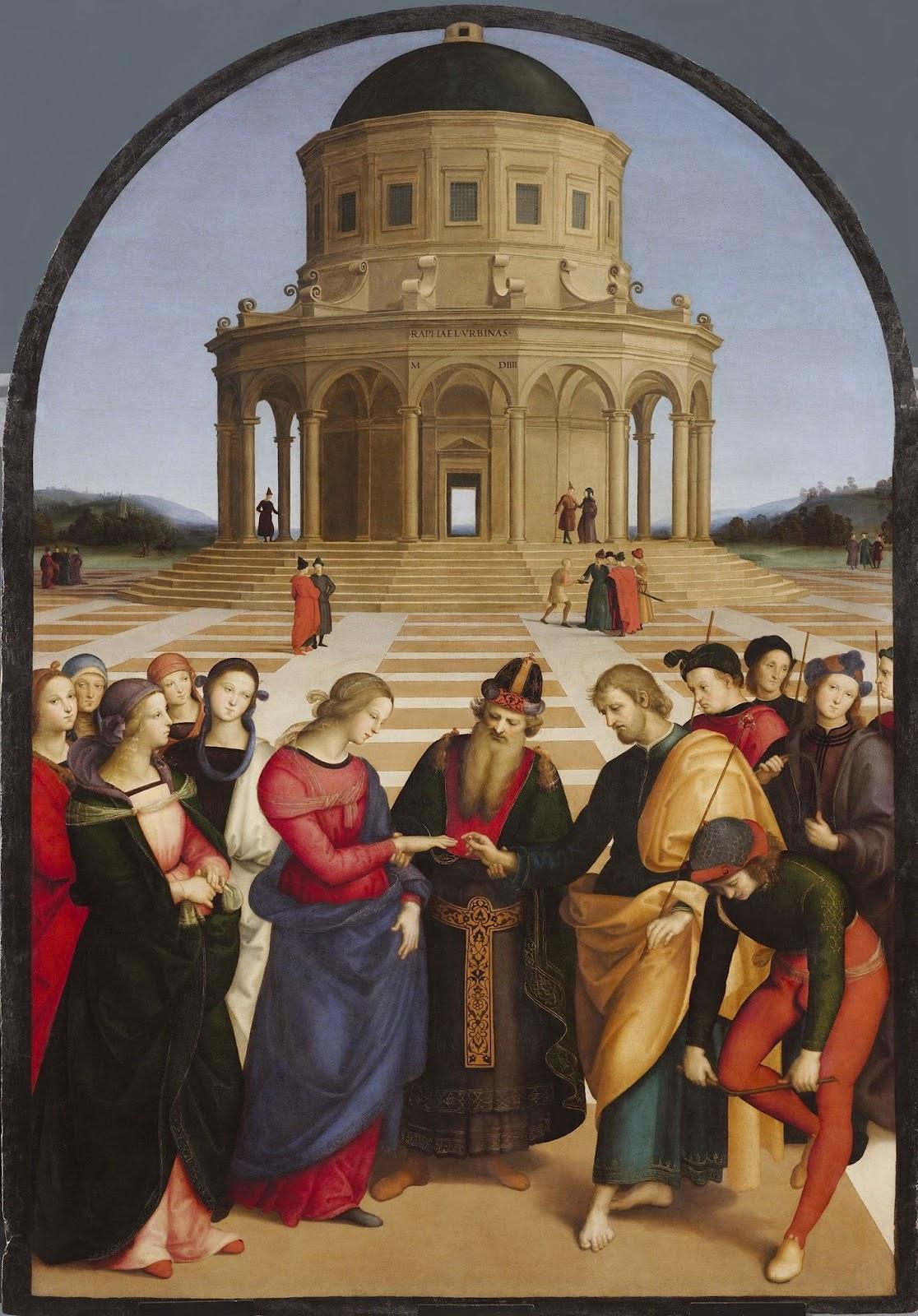 File:Raffaello - Spozalizio - Web Gallery of Art.jpg - Wikimedia ...