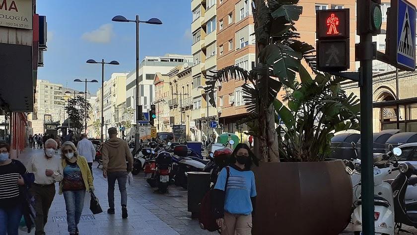 La provincia de Almería está cada vez más lejos de la zona roja en el semáforo del covid.