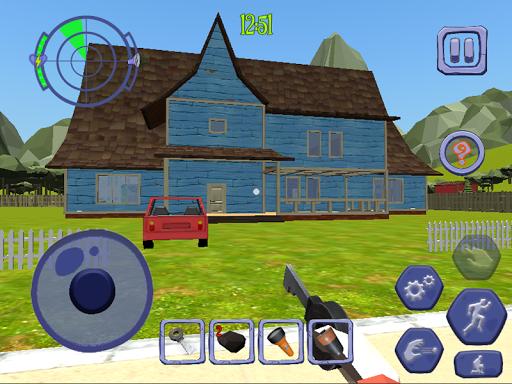 Scary Clown Sponge Vader Neighbor. Escape apkdebit screenshots 10