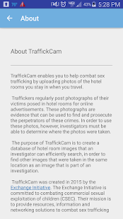 TraffickCam- screenshot thumbnail