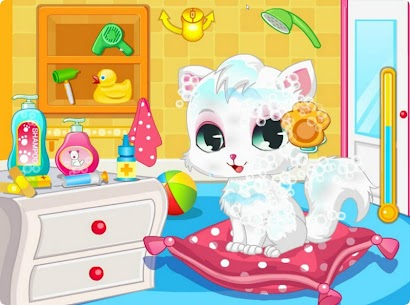 Pet Cat Spa And Salon Games HD 1.1.2 Mod APK Updated Android 3