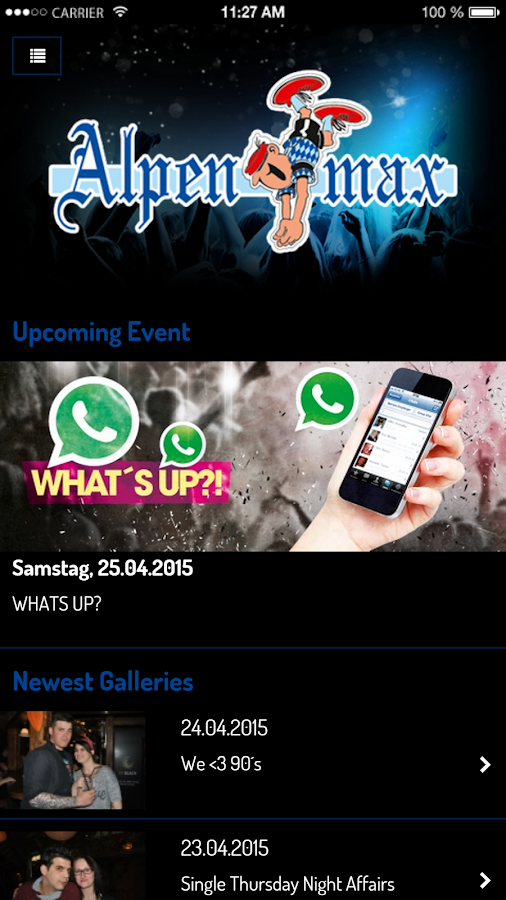 Alpenmax Ansbach- screenshot