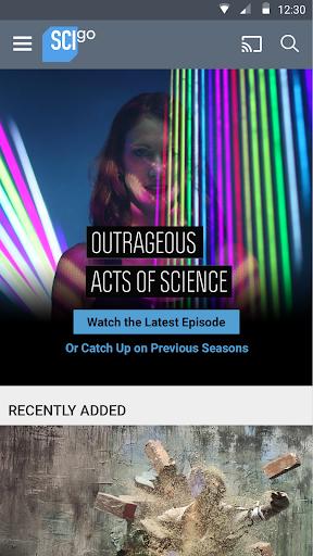 Science Channel GO 2.13.0 screenshots 1