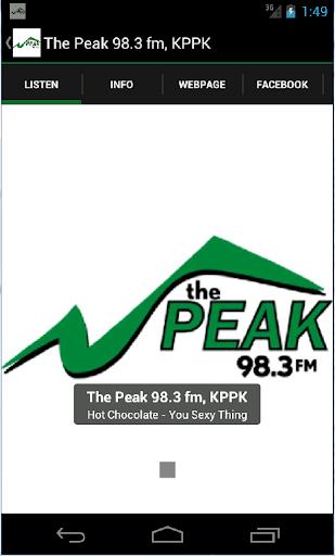 The Peak 98.3 fm KPPK