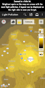 Light Pollution Map - Dark Sky screenshot 1