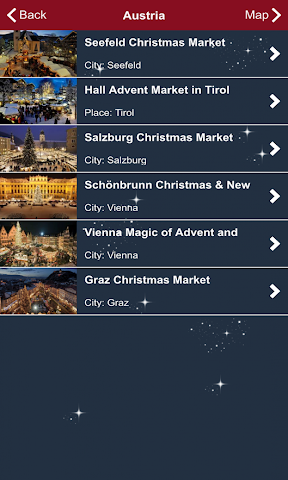 android Christmas Markets Europe 2015 Screenshot 4