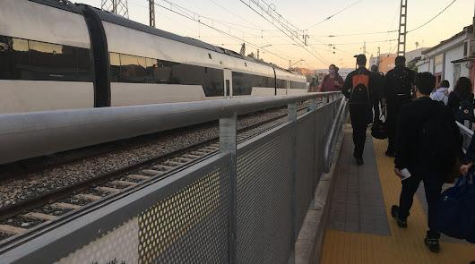 Almería tendrá que esperar a un segundo tren para ir a Madrid