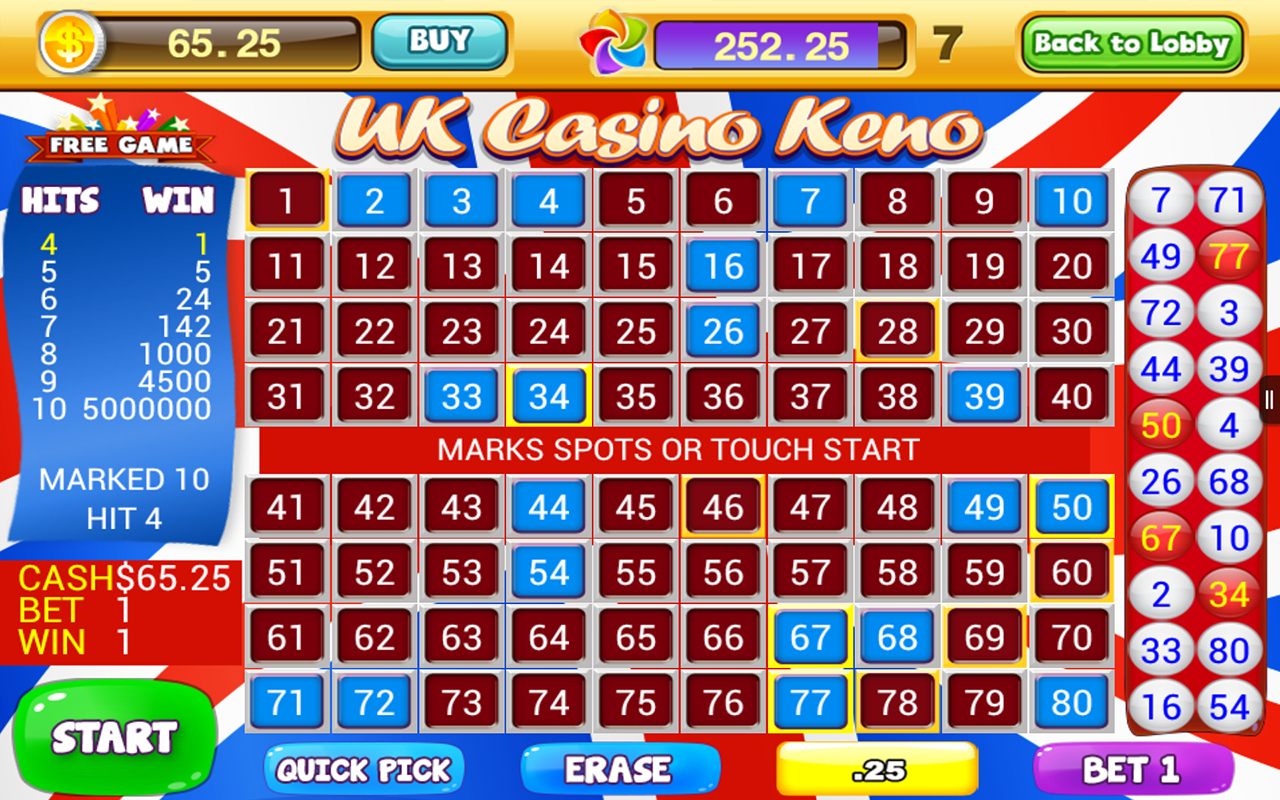 Online Keno 2019 Guide - A Guide to the Lottery-Based Game of Chance