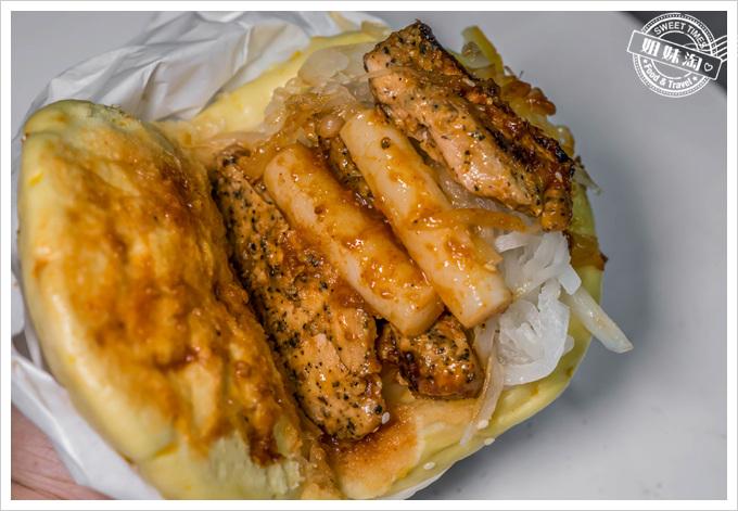 創刈包韓式紅醬雞肉年糕