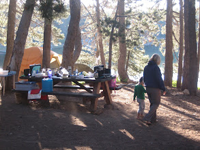 Photo: Early morning camp