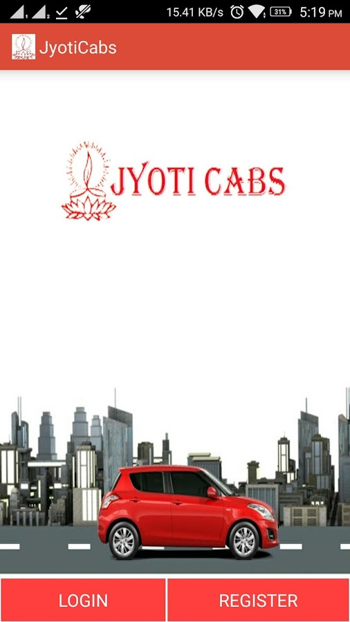 Jyoti Cabs- screenshot