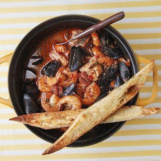 Tuscan Seafood Stew (Cacciucco) Recipe