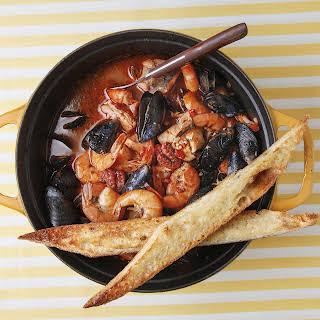 Tuscan Seafood Stew (Cacciucco).