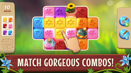 Lily's Garden Mod APK 1.67.0 (Unlimited Coins + Stars) for Android 5