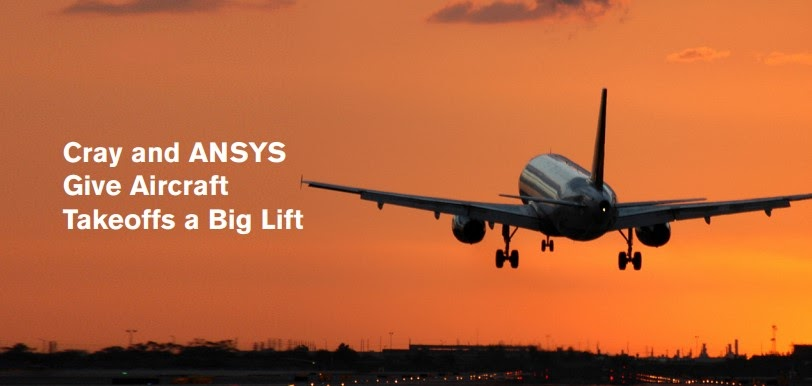 ANSYS Программные продукты ANSYS и суперкомпьютеры компании Cray позволяют выполнить расчёт взлёта самолёта менее чем за два часа