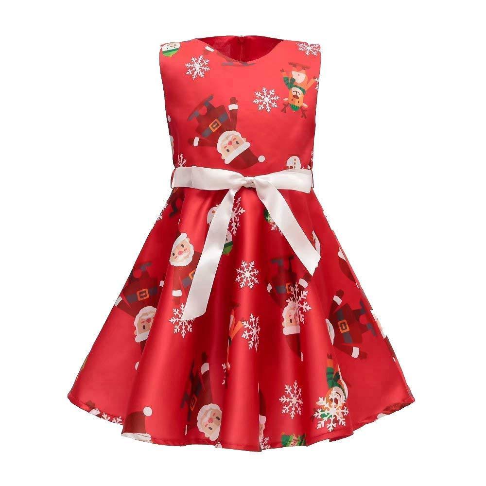 Sukienka swiateczna mikołajka dla dziewczynki - Sukienka dla dziewczynki na swieta  12