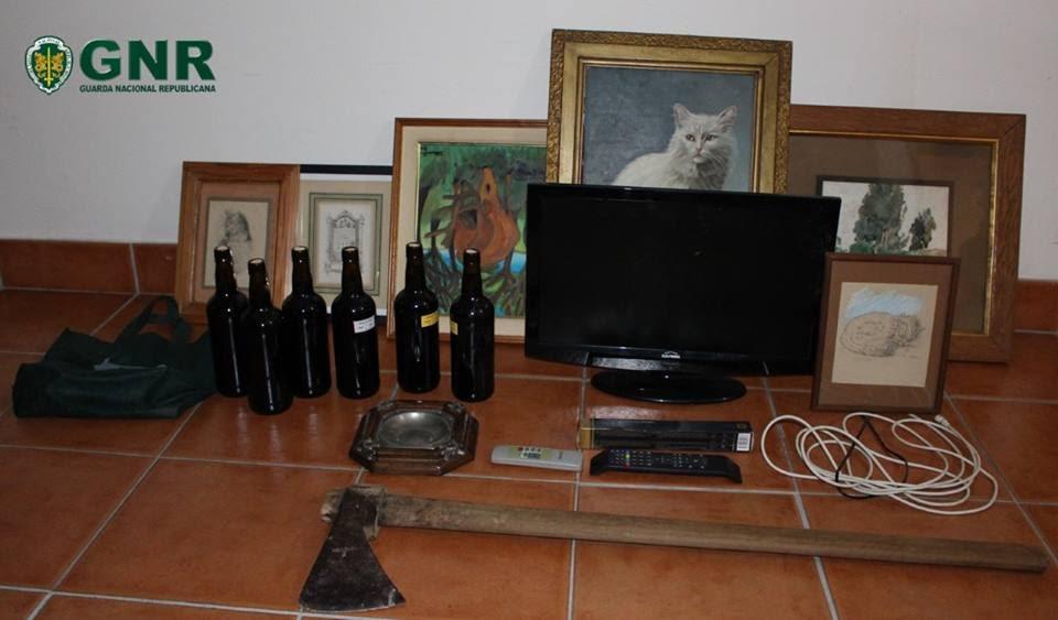 Lamego – Detida em flagrante delito por furto em interior de residência