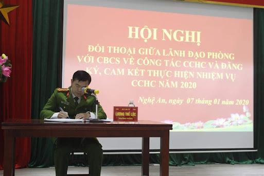 Đại tá Lương Thế Lộc, Trưởng phòng đối thoại với CBCS