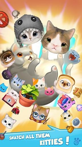 Kitty Snatch - Match 3 ft. cats Monty & Nala Cat  screenshots 11