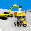 Offroad Snow Excavator Crane Sand Transport Truck icon