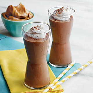 Peanut Butter, Banana, and Chocolate Smoothies.