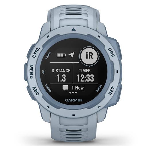 Garmin Instinct, GPS, Seafoam_1