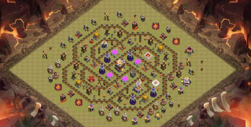 Base COC TH 1-11 Design 1.0 screenshots 1