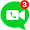 Messenger App for Free Video messages, Video Calls small icon