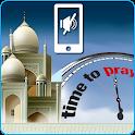 Prayers times:Auto Silence icon
