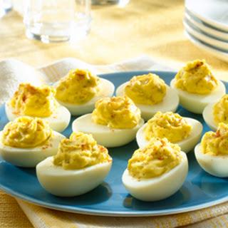 Driver's Deviled Eggs.